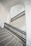 White staircase Royalty Free Stock Image