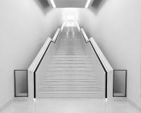 White staircase Royalty Free Stock Photos