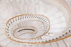 White stairs. Stock Photo