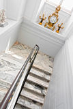 White stairs. Stock Images