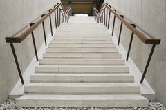 White stairs Royalty Free Stock Image