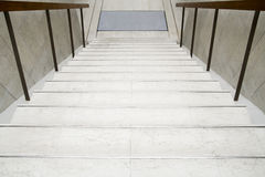 White stairs Stock Photography