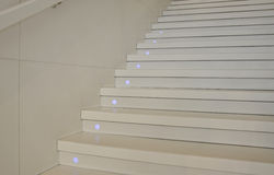 White Stairs Stock Images