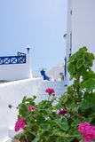 White Stairs. White stairs of Greece island Royalty Free Stock Image