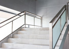 White stairs in modern office Stock Images