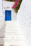 White stairs in Tinos Island,Greece Royalty Free Stock Photos