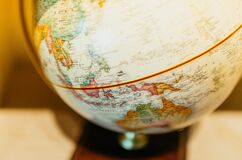White Stand Globe Stock Photography