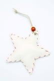White star. On white background Stock Photo