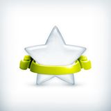 White star, award Stock Photo