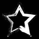 White Star Grunge Stock Image