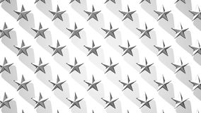 White Stars Abstract stock video