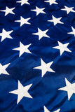 White Stars on American Flag Royalty Free Stock Image