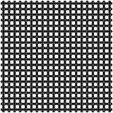 White stars on black background Stock Photography