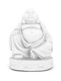 White statue of Buddha Royalty Free Stock Photo