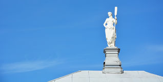 White statue Stock Images
