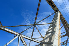 White steel structure Royalty Free Stock Photography