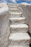 White steps 1 Royalty Free Stock Photography
