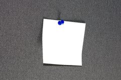 White sticker notes Royalty Free Stock Image