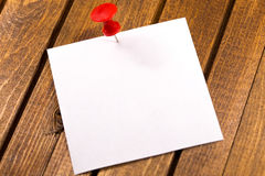 White sticker Royalty Free Stock Images
