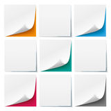 9 White Sticks 5 Colored Backgrounds. 9 white sticks with colored background Stock Illustration