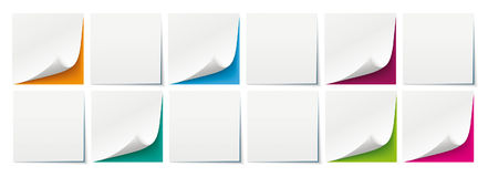 White Sticks Colored Backgrounds Boards Header. White sticks with colored background Stock Illustration