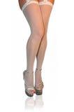 White stockings Stock Photos