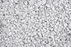 White stone background Stock Images