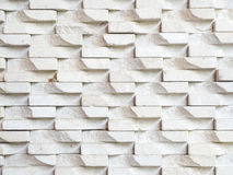 White stone brick wall background. Iinterior white stone brick wall background Royalty Free Stock Images