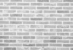 White stone brick wall texture and background Stock Photo