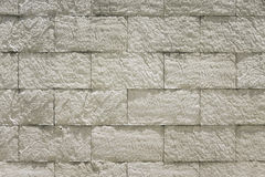 White stone bricks wall Royalty Free Stock Images
