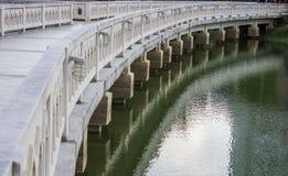 The white stone Bridge Royalty Free Stock Images