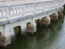 The white stone Bridge Royalty Free Stock Photos