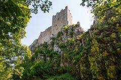 White Stone, Castle, Ruin, Bavaria Royalty Free Stock Photo