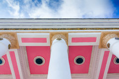 White stone column Royalty Free Stock Photography