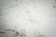 White stone concrete table Stock Images