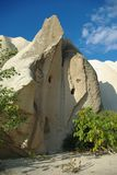 White stone formation in Cappadocia Royalty Free Stock Images