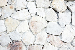 White stone gravel background texture. Seamless rock concrete texture background closeup. stone wall Royalty Free Stock Photography