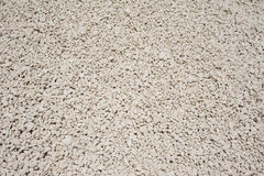 White stone gravel close up Royalty Free Stock Image