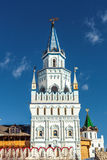 White-stone Kremlin in Izmaylovo in Moscow Royalty Free Stock Image