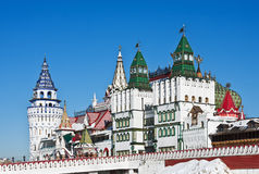 Izmailovo Kremlin in Moscow Royalty Free Stock Image