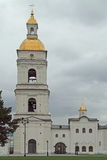 White-stone kremlin in Tobolsk, Russia. White-stone kremlin in Tobolsk is the sole stone Kremlin in Siberia Royalty Free Stock Photo