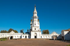 Тhe white-stone Kremlin Verkhoturye city . Stock Photography