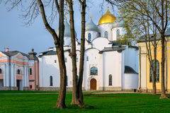 White stone Orthodox Church Royalty Free Stock Photography