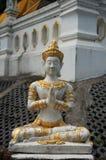 White stone statue Royalty Free Stock Photos