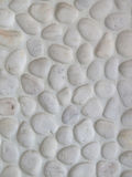 White stone texture background surface Royalty Free Stock Photos
