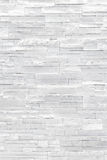 White Stone Veneer Wall Texture Royalty Free Stock Images