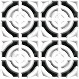 White stone vent. Seamless pattern Stock Image