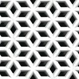 White stone vent. Seamless pattern Stock Photos