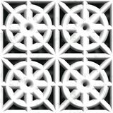 White stone vent. Seamless pattern Stock Images