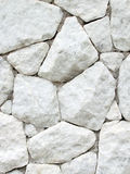 White stone wall Stock Image